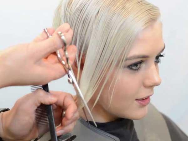 پیرایش موی زنانه از روی عکس و تصویر