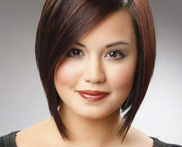 مدل موی مناسب صورت های گرد